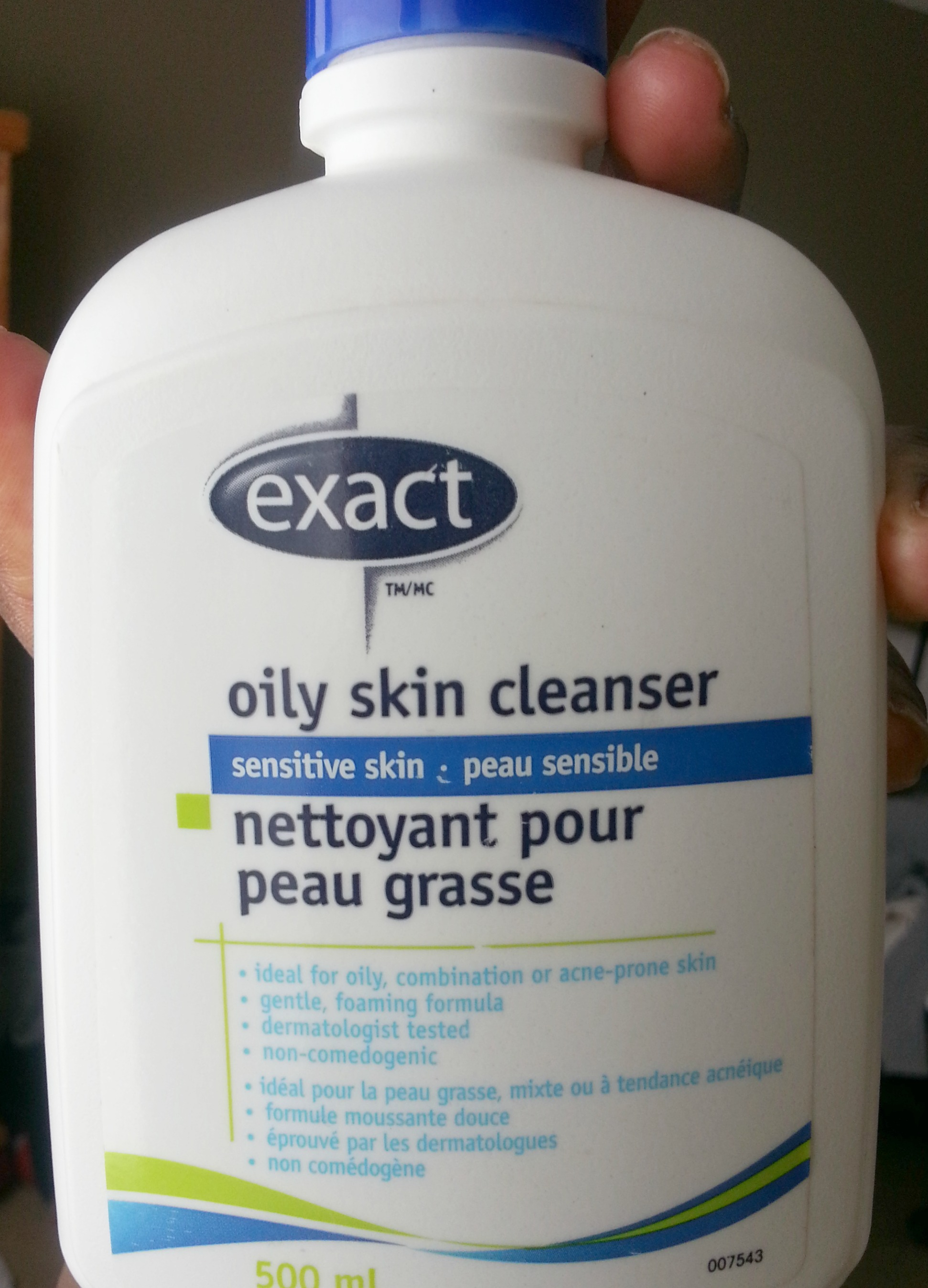 A Good Cleanser for oily/acne prone skin - by Exact