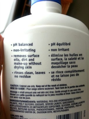 Features of the Exact Oily Skin Cleanser