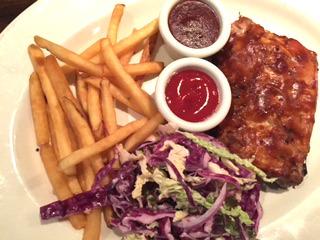 BBQ Ribs @ Keg's Steakhouse