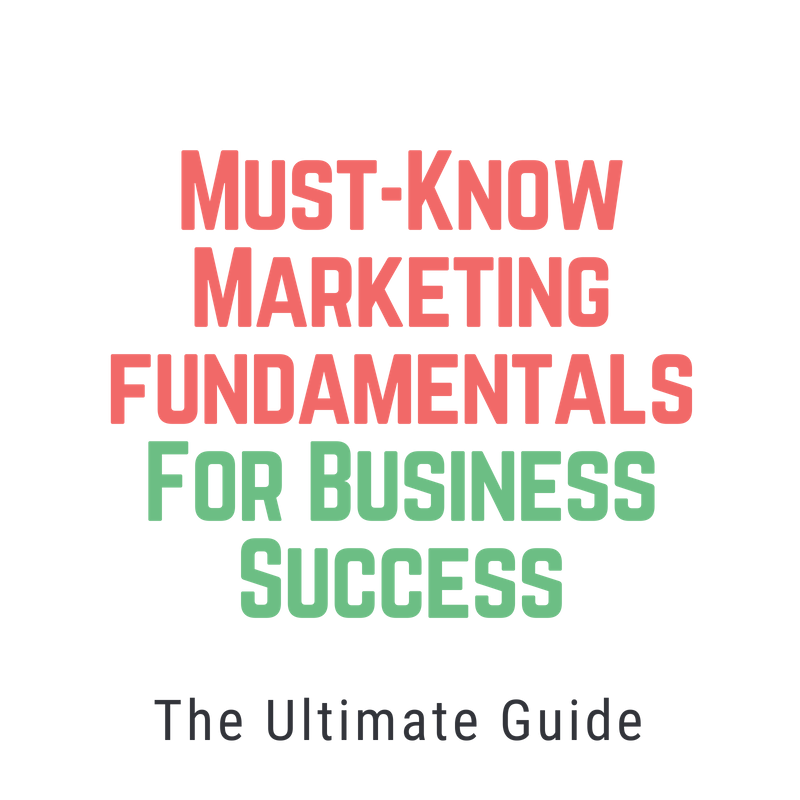 Must-Know Marketing Fundamentals For Business Success Udemy Course