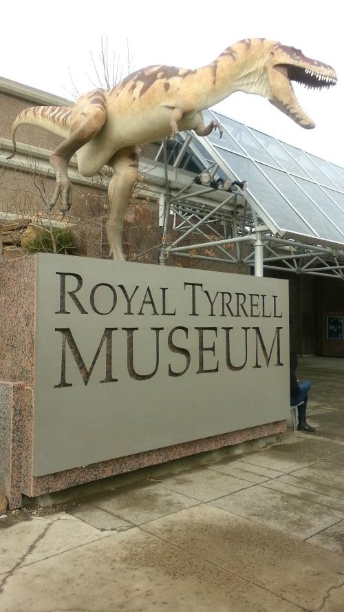 Royal Tyrrell Museum Entrance, Drumheller Canada
