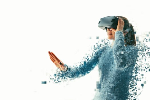Virtual reality can be a low-pressure environment in which to practice communication.