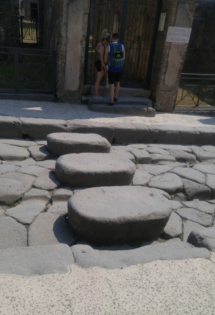 Stepping/Crossing Stones, Pompeii Italy