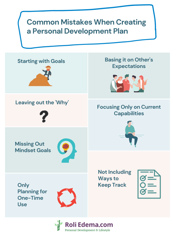 Common Mistakes When Creating a Personal Development Plan