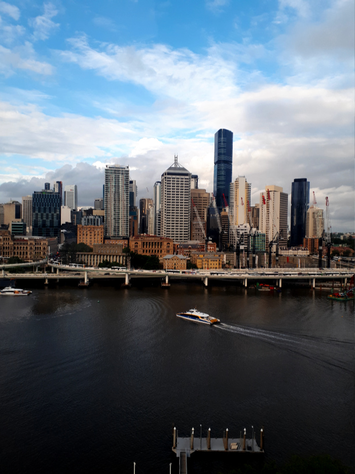 Amazing Views from the Wheel of Brisbane