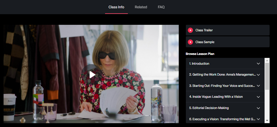What I learned from the Anna Wintour MasterClass