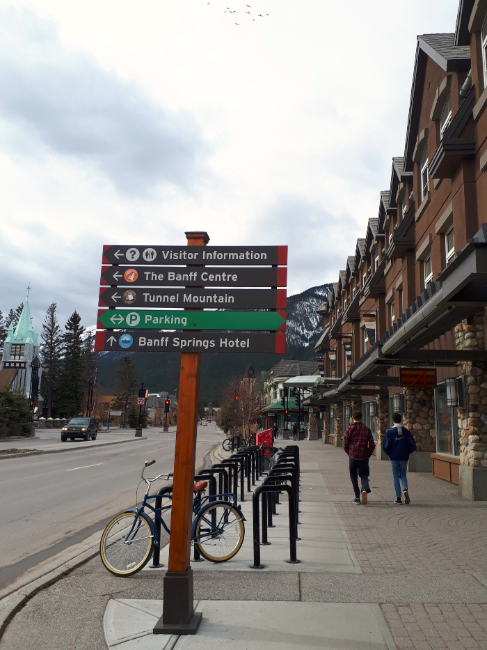 Short Stop in Banff - Calgary to Jasper Trip