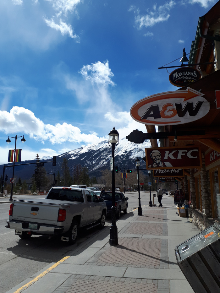 A Beautiful Sunny Day in Jasper
