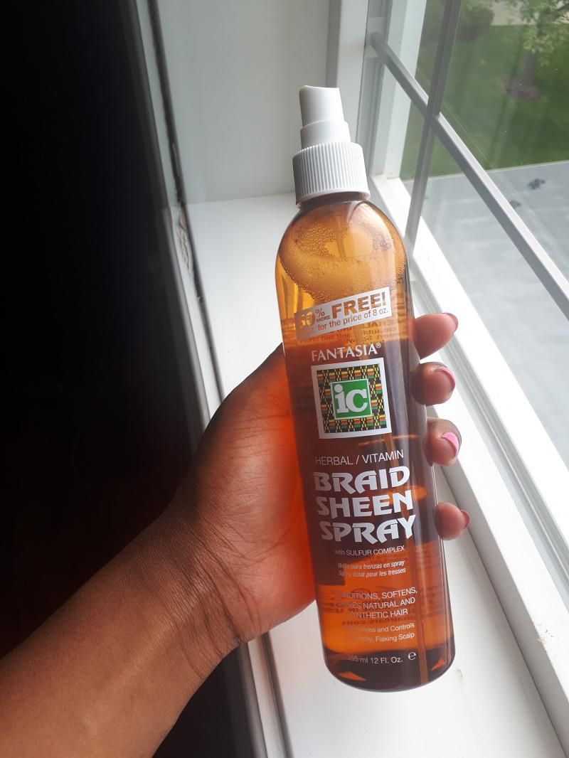 Best Hair Spray For Braids - Fantasia Braid Sheen Spray