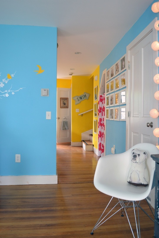 source: apartmenttherapy.com  Melyssa & Ted's Colorful Carriage House