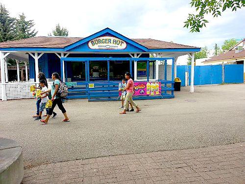 burger hut calaway park calgary