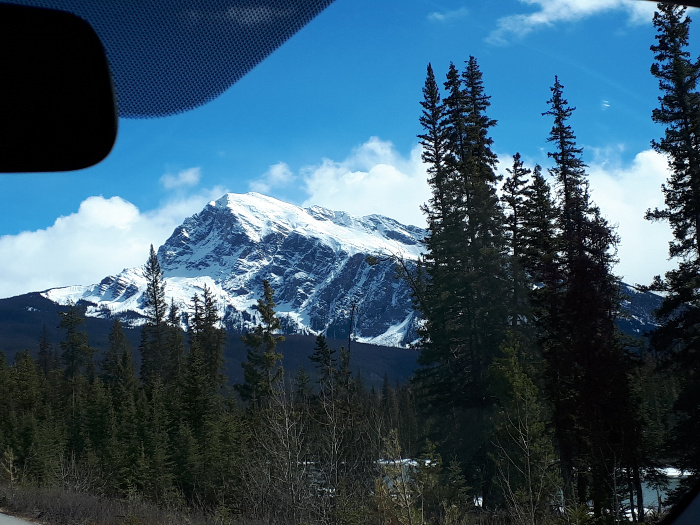 The Drive From Calgary to Jasper