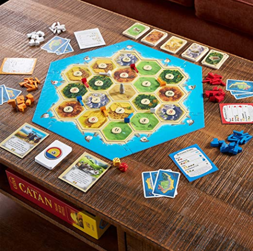 Catan Board Game: Find on Amazon