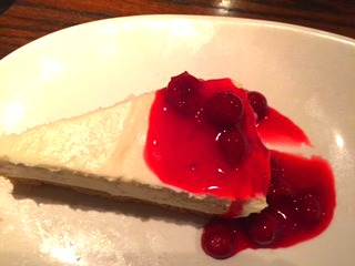 Cheesecake @ Keg's Steakhouse