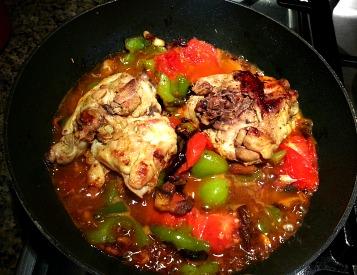Chicken Tomato Sauce