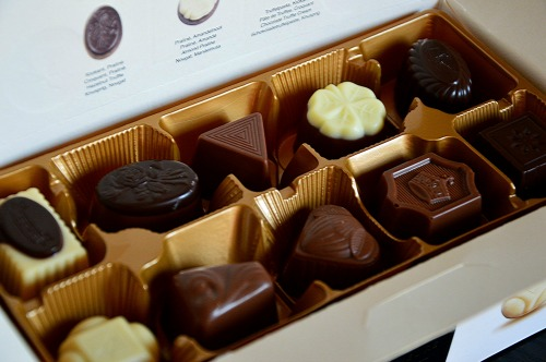 refresh yourself with chocolate
