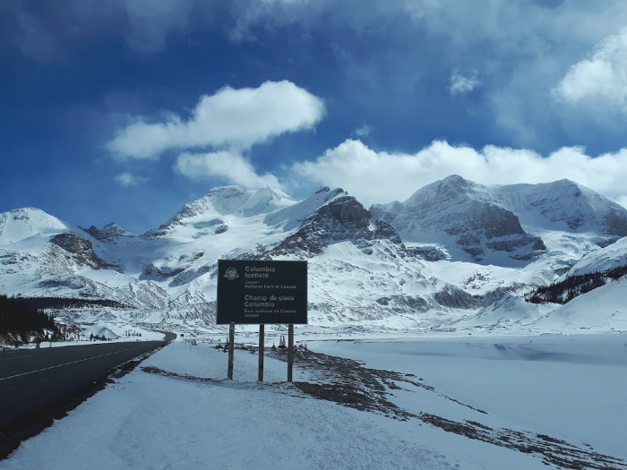 Columbia Icefield - An Amazing View