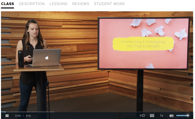 Preview of Introduction to Prototyping Class in UX Design Bundle