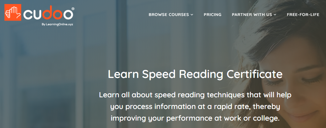 Cudoo Speed Reading Course
