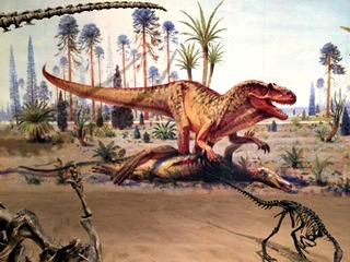 Dinosaur Artwork At Royal Tyrrell Museum