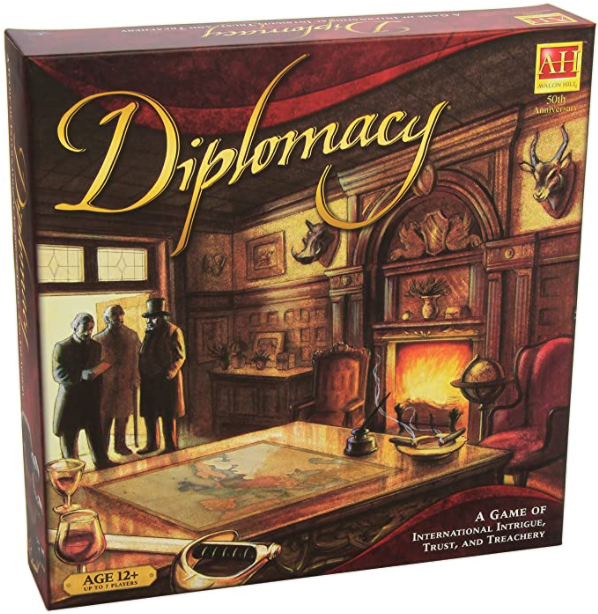 Diplomacy Board Game: Find on Amazon