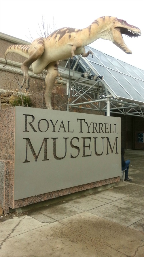 Royal Tyrrell Museum Entrance, Drumheller Canada