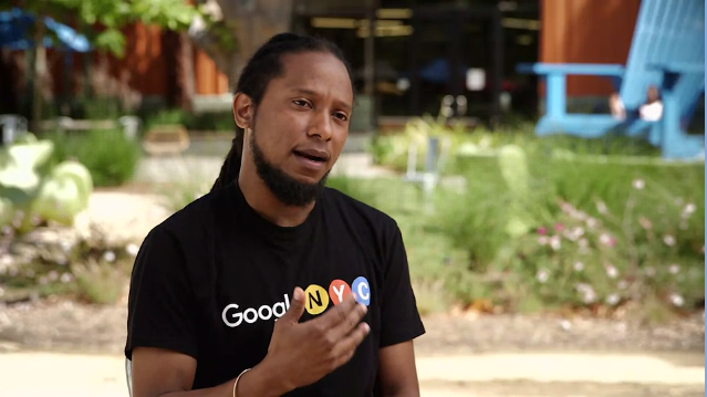 The course includes interviews and career advice from Googlers of various backgrounds.