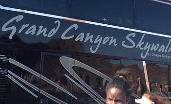 This is the Grand Canyon West Bus Tour trip. 12.5 hours return journey from Las Vegas City Center!