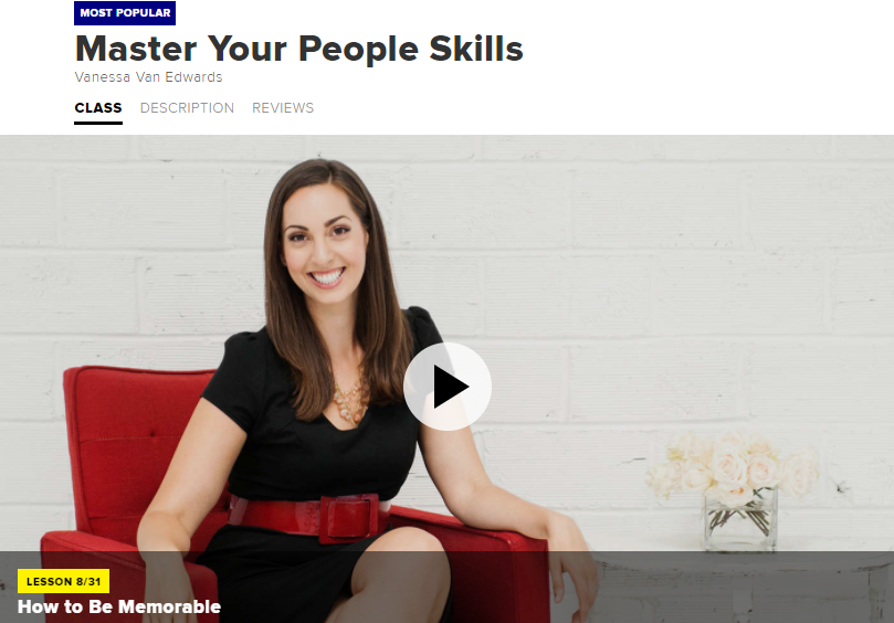 Master Your People Skills Course on CreativeLive