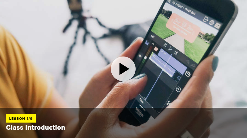 iPhone Video Editing Course