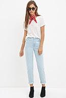 Mum Cuffed Jeans