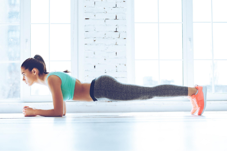 Challenge Yourself By Doing the Plank
