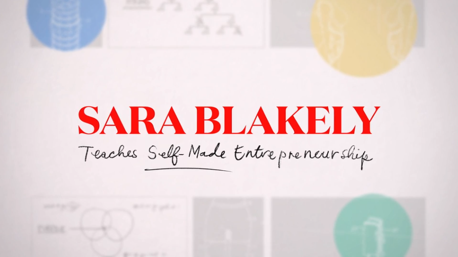 What is the Sara Blakely MasterClass About?