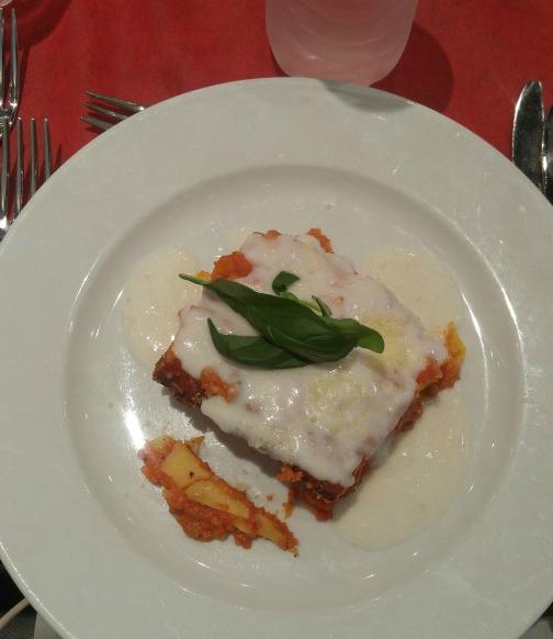 Satiricus Restaurant Rome - Lasagne