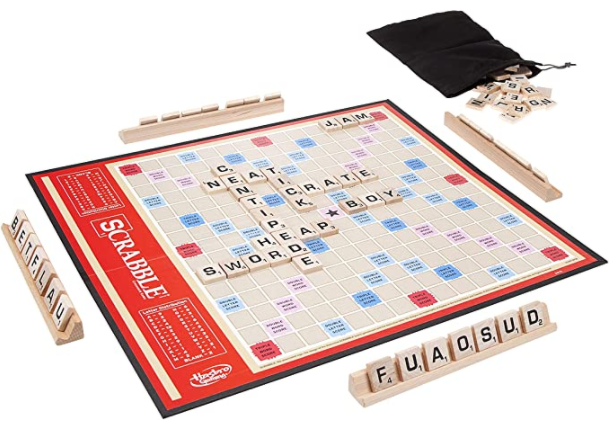 Scrabble Board Game: Find on Amazon