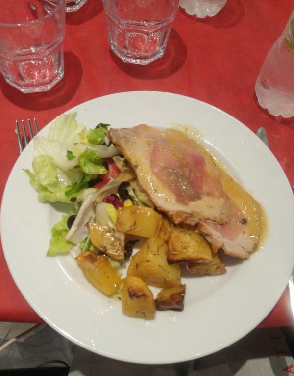 Sliced Beef - Satiricus Restaurant Rome
