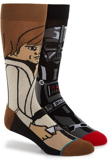 Awesome Stars Wars Socks - Winter Inspiration