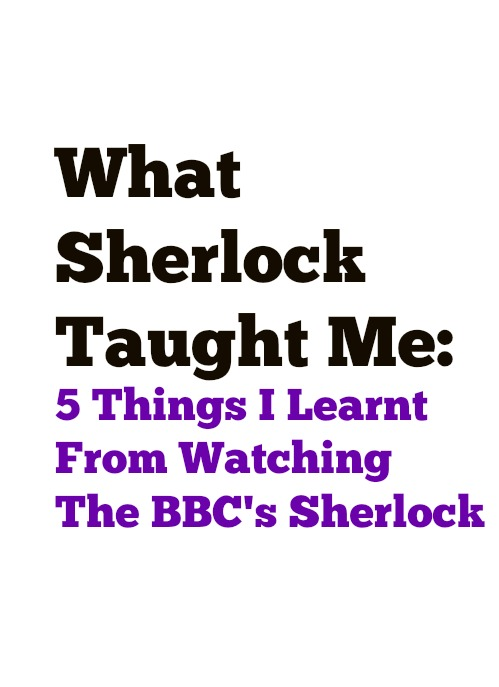What Sherlock Taught Me - Funny Moments