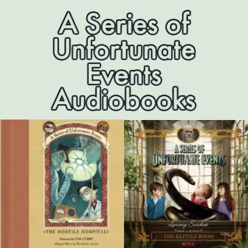 A Series of Unfortunate Events Audiobooks - Listen & Enjoy for Free