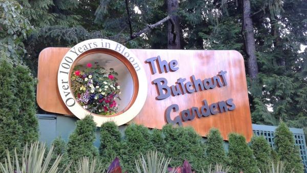 The Butchart Gardens, Victoria, British Columbia