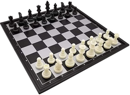 Black and White Chess Set: Find on Amazon
