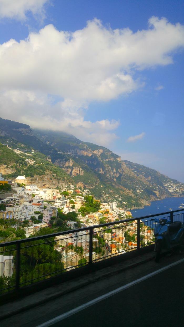 The Drive to Positano, Italy