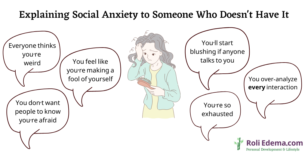 Explaining Social Anxiety to Someone Who Doesn't Have It