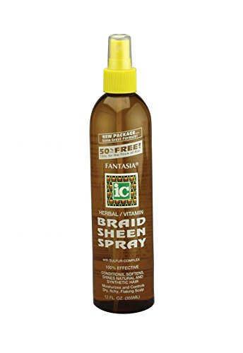 The Fantasia Braid Sheen Spray - Get it On Amazon