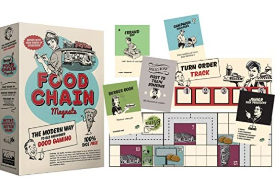 Food Chain Magnate Board Game: Find on Amazon