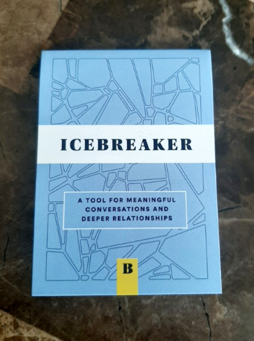 You can use the Icebreaker Deck to have  deeper conversations with your loved ones.