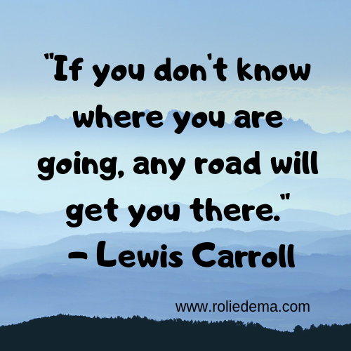 If You Don't Know Where You Are Going Quote