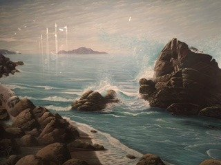 Landscape Artwork At Royal Tyrrell Museum