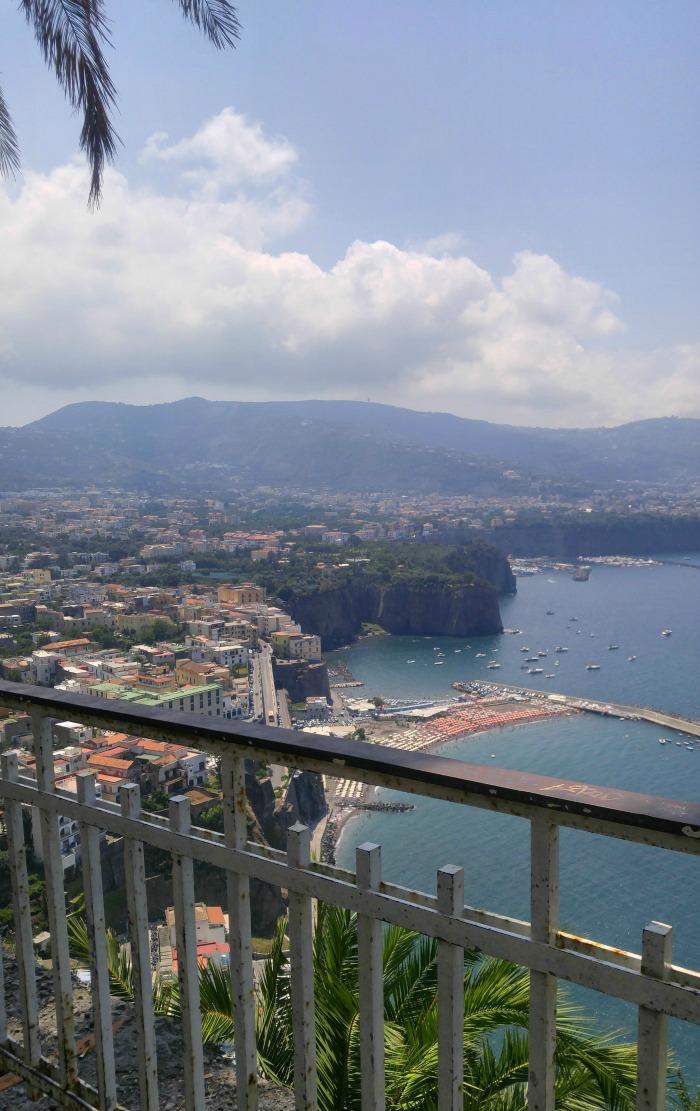 Scenic views on the Amalfi Coast