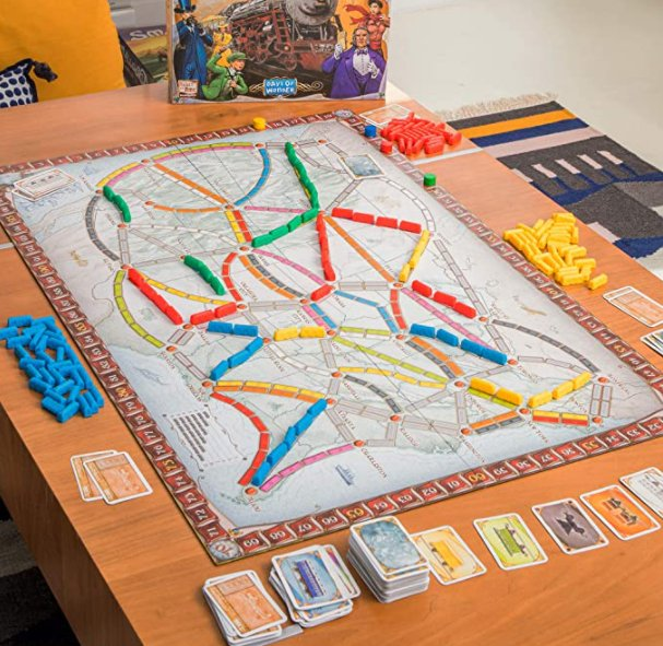 Ticket to Ride Board Game: Find on Amazon
